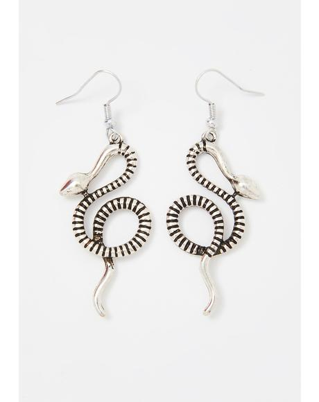 Serpent Spells Drop Earrings