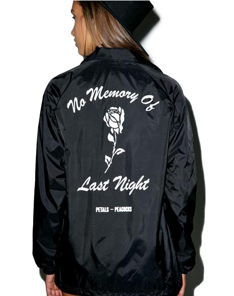 No Memory Coaches Jacket