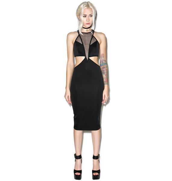 Dark Nebula Bodycon Dress