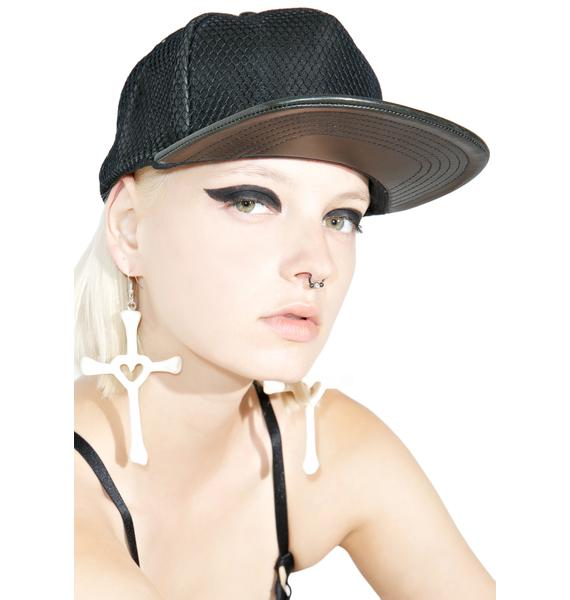 This Is A Love Song Leather Snapback
