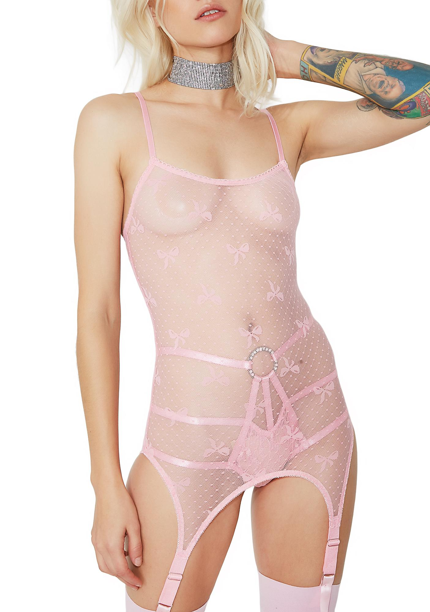 Sugar Thrillz Dream Girl Garter Chemise