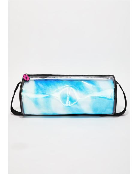 Peace Sign Festival Blanket Duffel