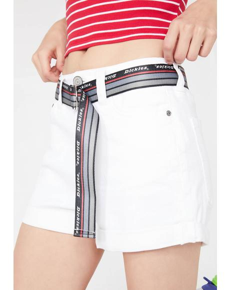 Pure Shortie Roll Cuff Shorts