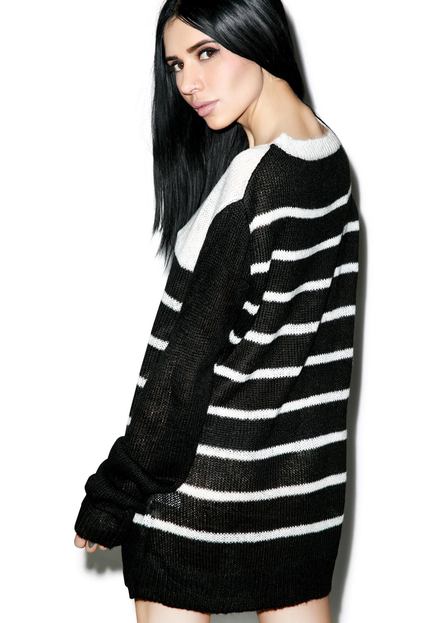 Tripp NYC Colorblock Sweater