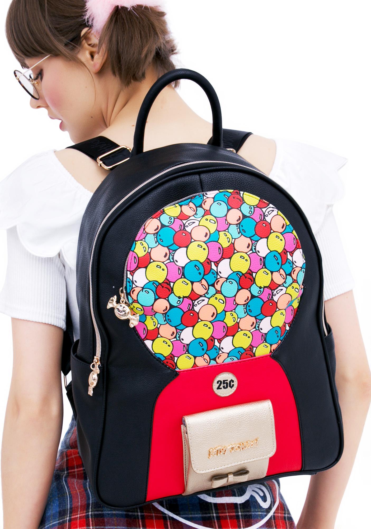 Betsey Johnson Bubblegum Backpack