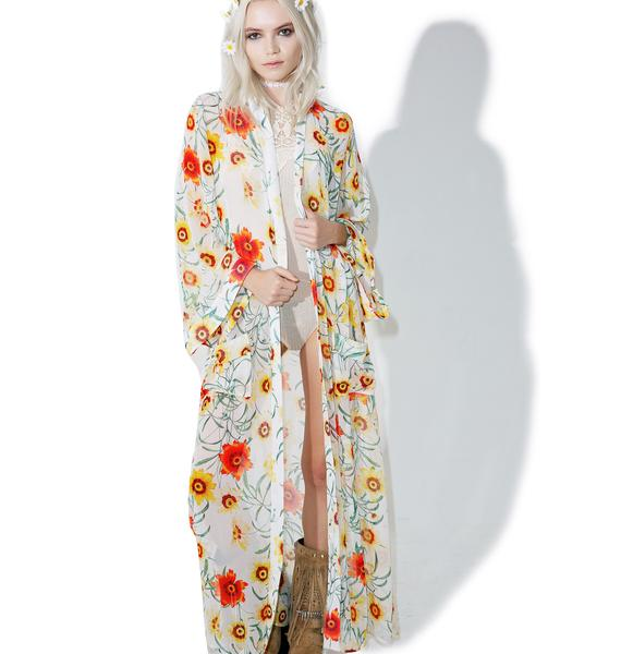 Wildfox Couture Wild Daisy Maxi Duster