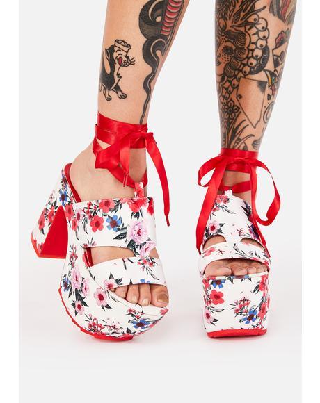 Fey Queen Platform Heels