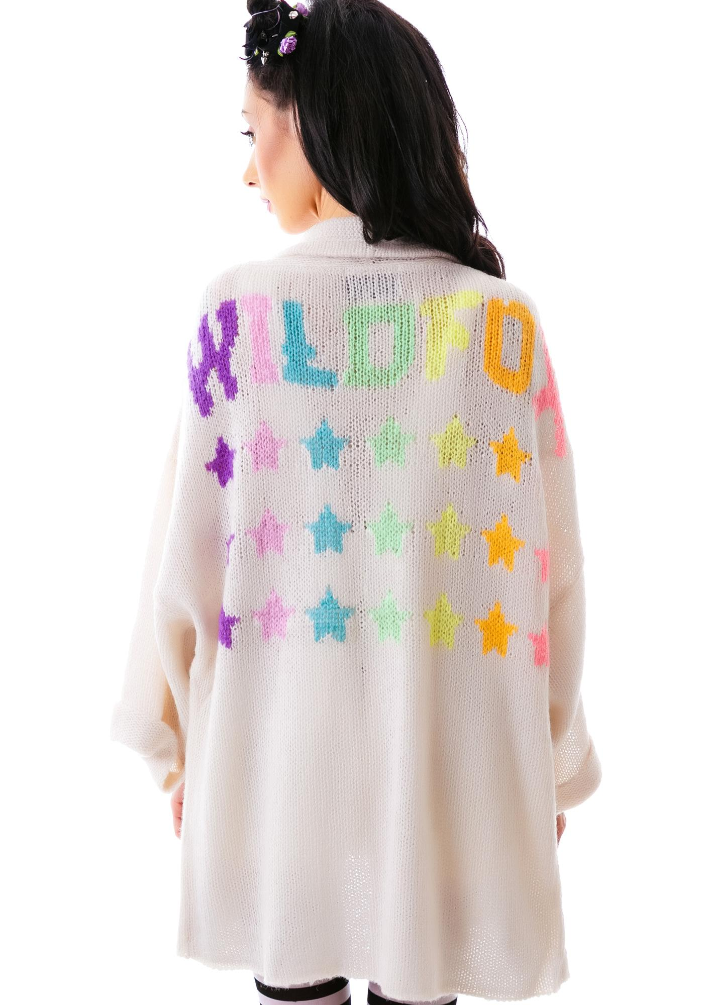 Wildfox Couture Wildfox Stars Slouch Cardigan