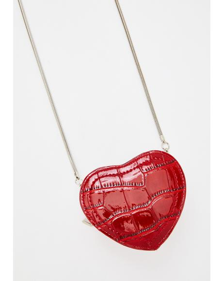 Ur Dead To Me Heart Bag