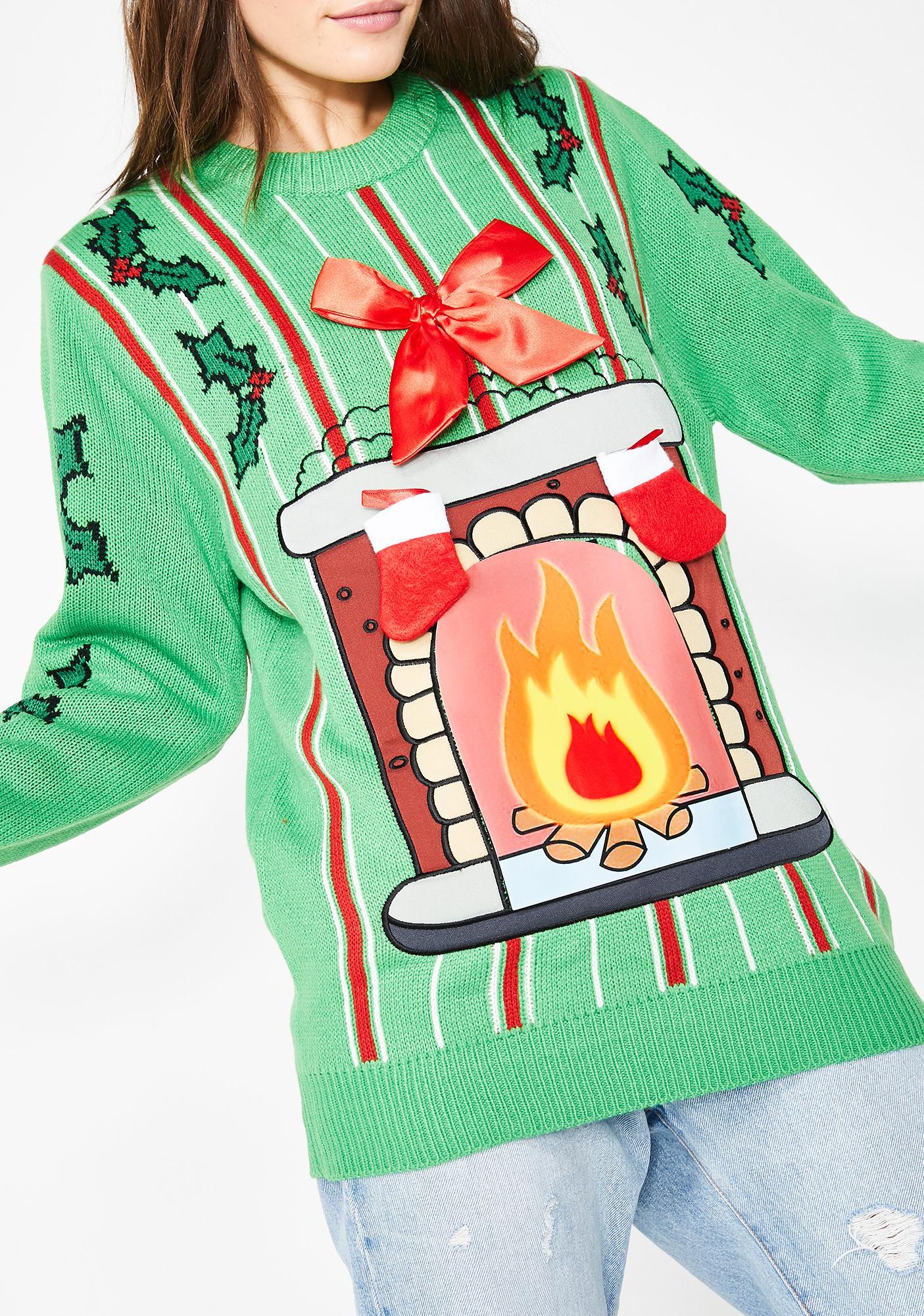 Deck My Halls LED Sweater