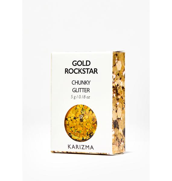 Karizma Beauty Gold Chunky Glitter