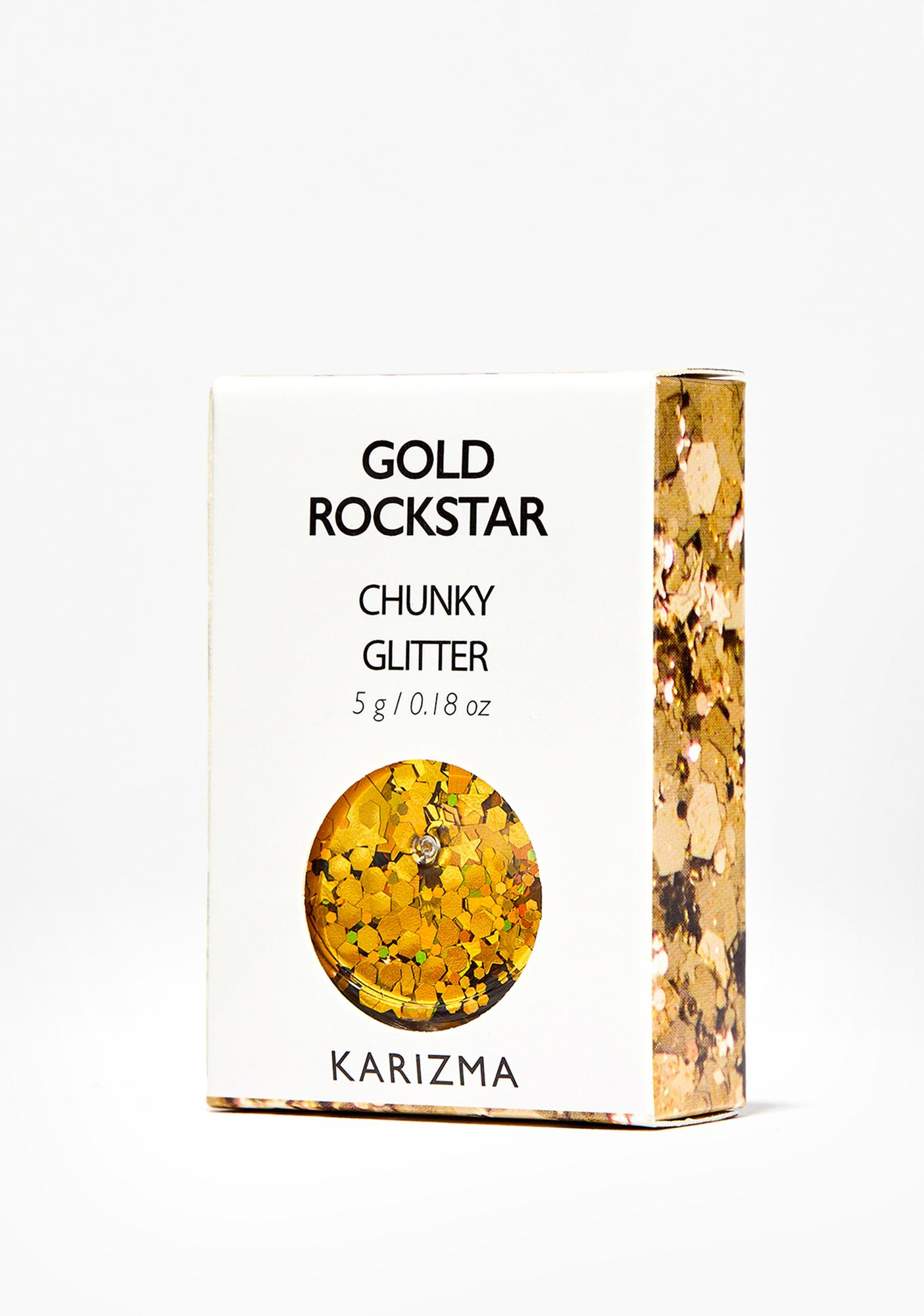 Karizma Beauty Gold Chunky Glitter