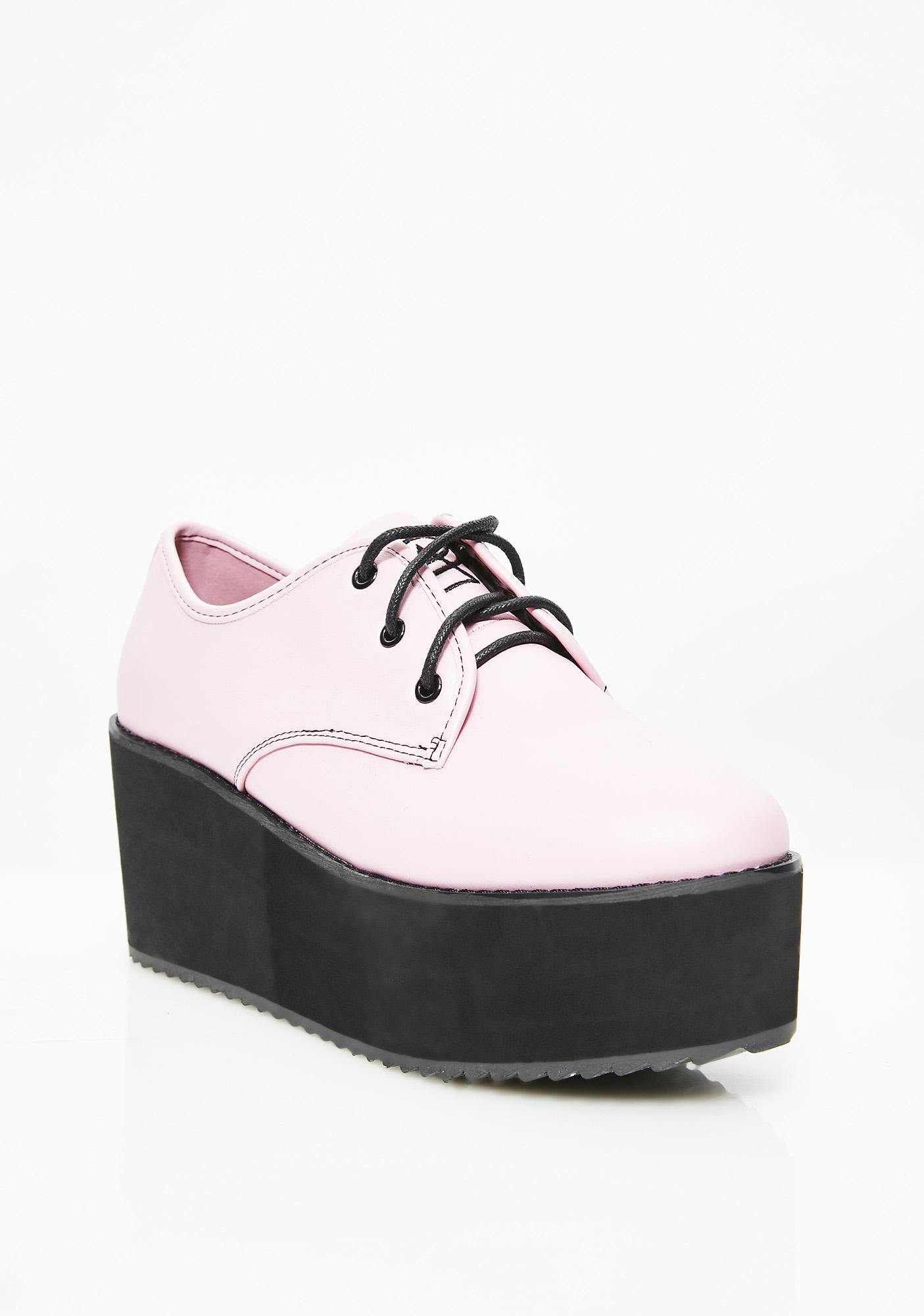 Strange Cvlt Stomp Lo Platform Oxfords