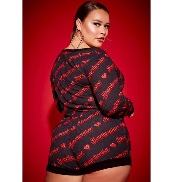 Poster Grl True Tip Of My Tongue Lounge Romper