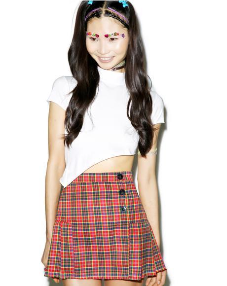 The Naughty Plaid Skirt