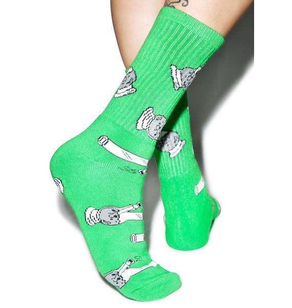 40s & Shorties Bong Socks