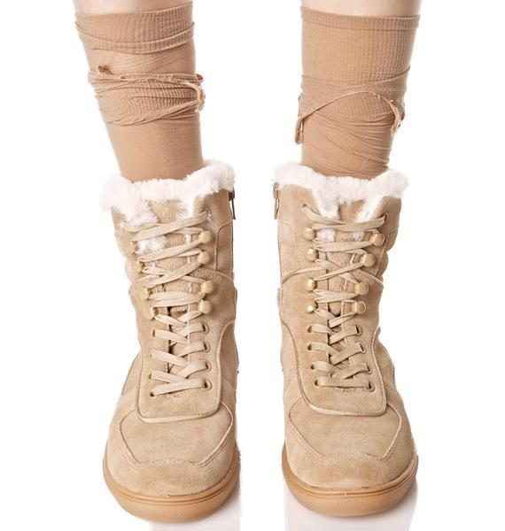 J Slides Denver Lace-Up Sneaker Boots