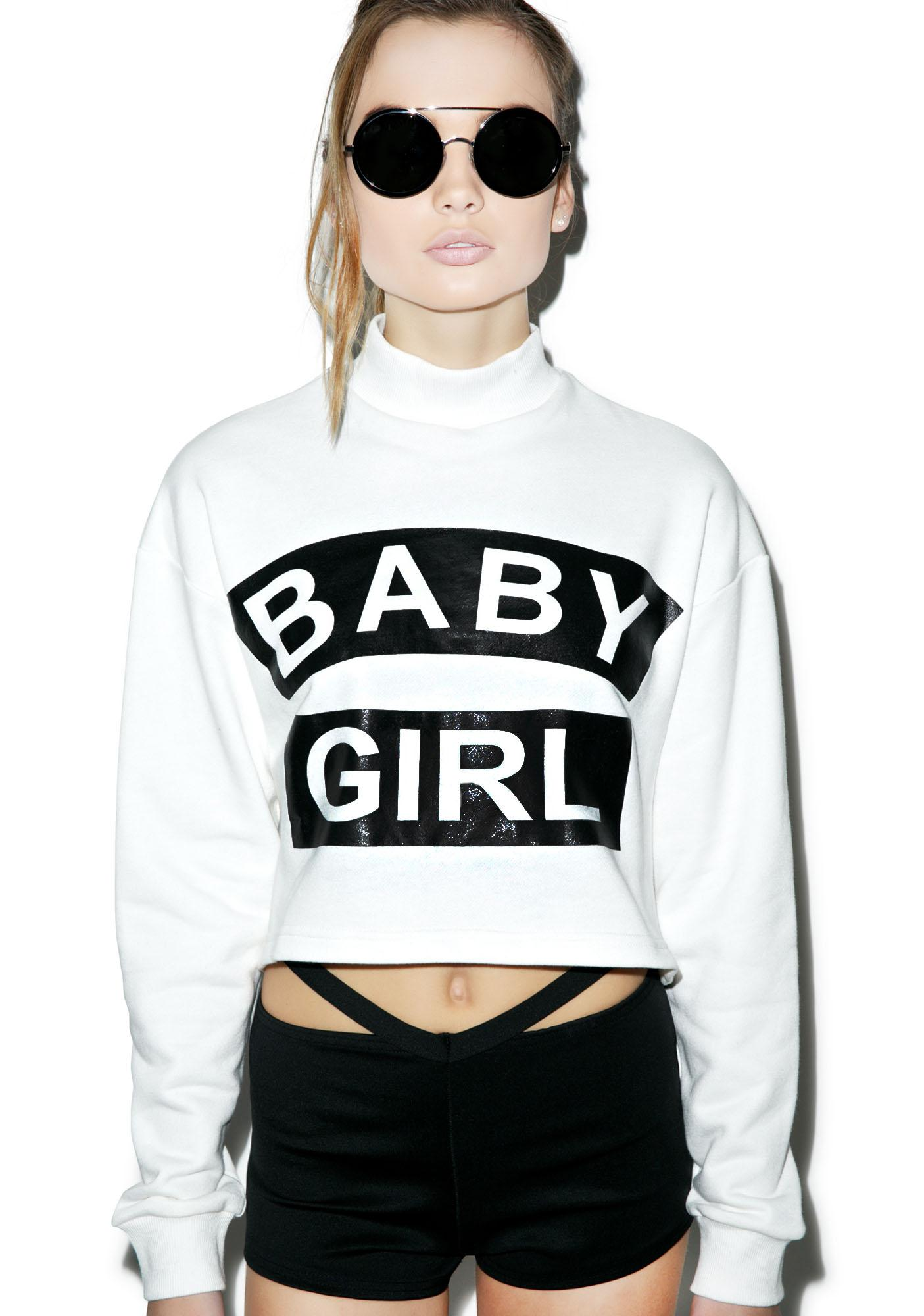 Rise of Dawn Baby Girl Cropped Sweater