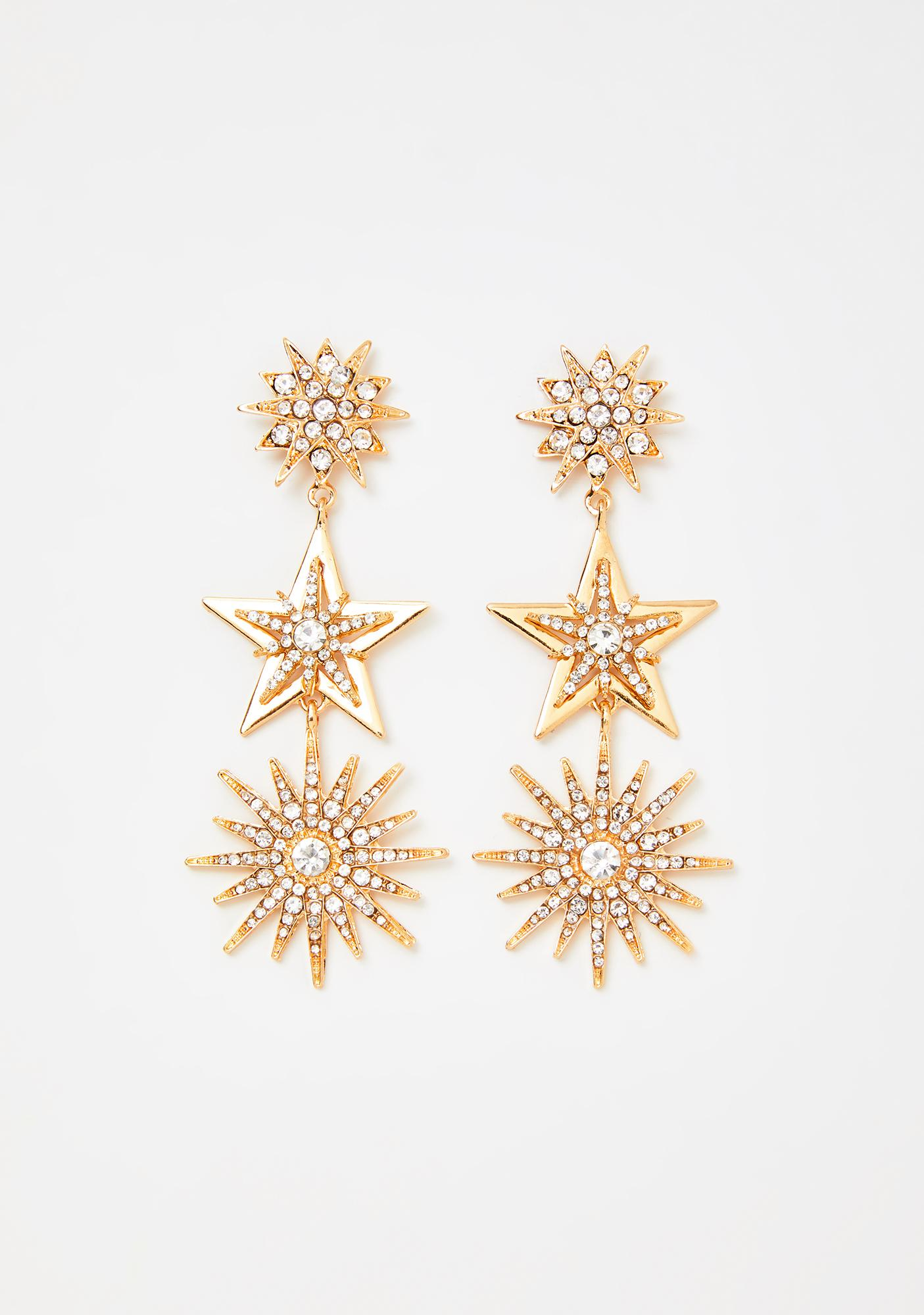I'm Your Wish Star Earrings