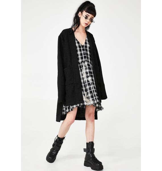 MNML Illusion Daze Oversized Cardigan