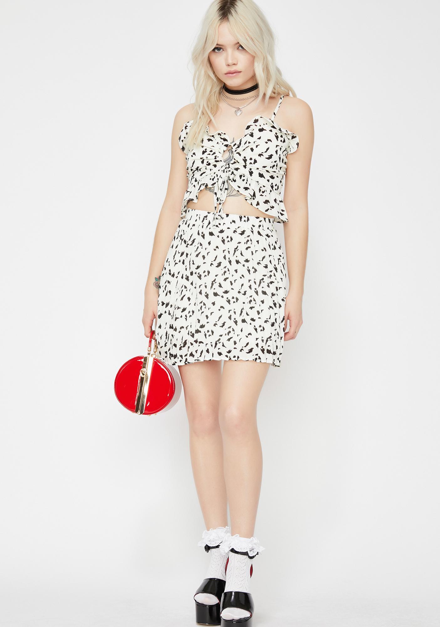 Posh Perfecto Pleated Skirt