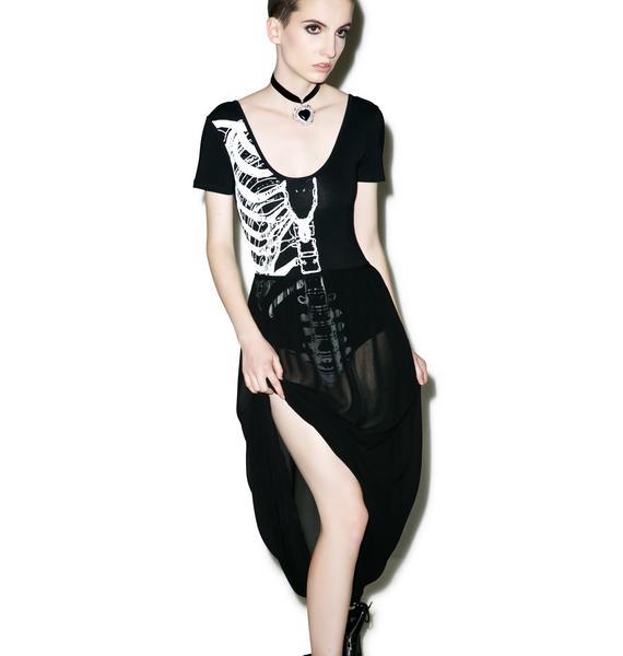 Iron Fist Wishbone Maxi Dress