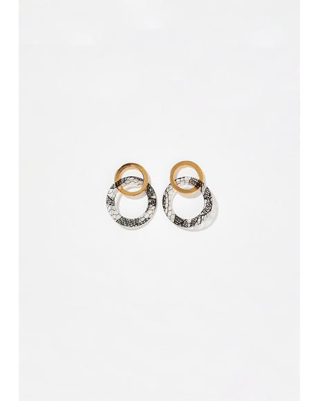 Knockout Double Hoop Earrings