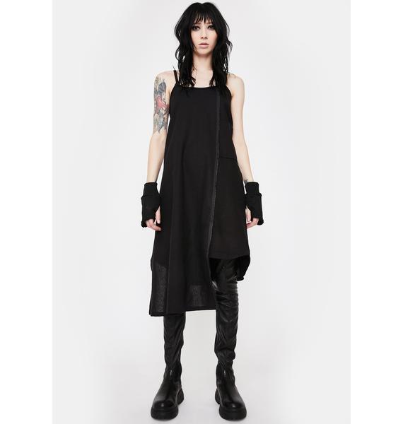 NOCTEX Hayley Linen Midi Dress