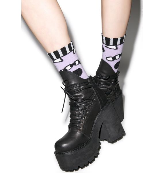 Lazy Oaf Eye Eye Socks