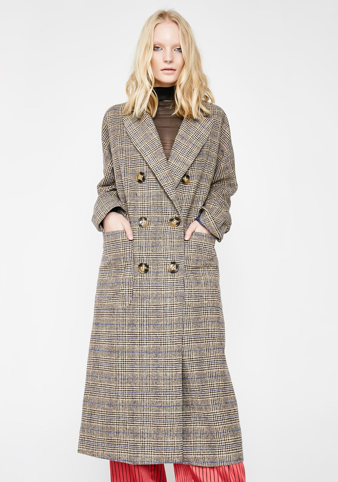 Places To Go Trench Coat