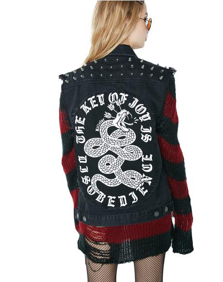 Disobedience Cut Off Vest