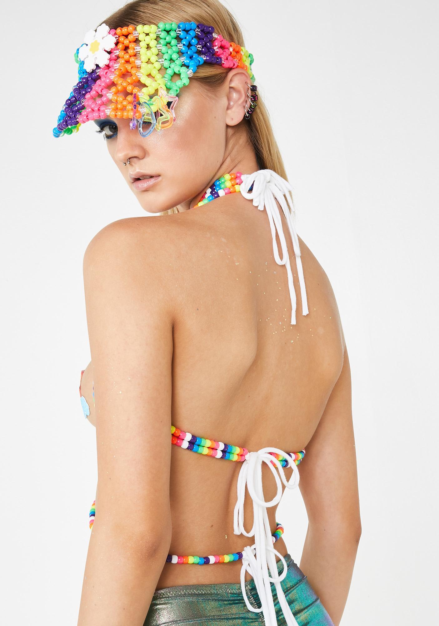 Kanditoybox Universal Rainbow Kandi Harness