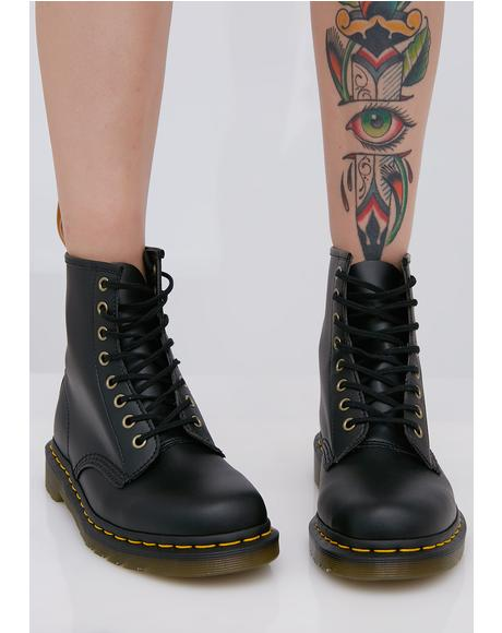 Vegan 1460 8 Eye Boots