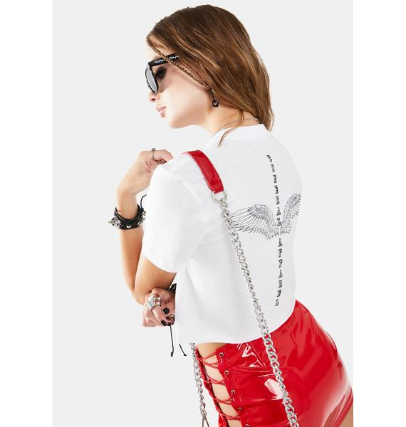 Funeral Winged Graphic Tee