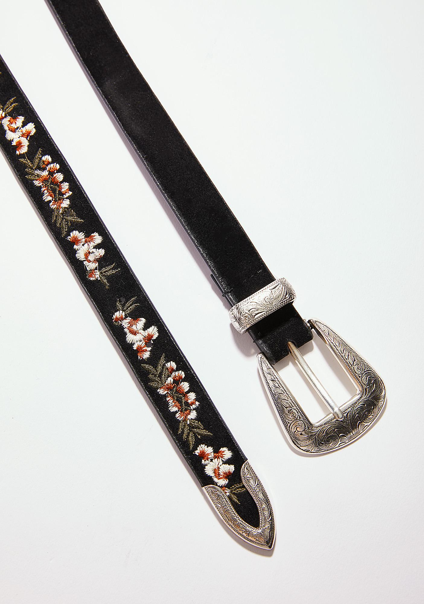 Fully Flourished Buckle Belt