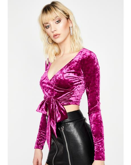 Nothing To Me Velvet Top