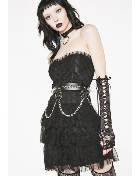 Gothic Charm School Mini Dress