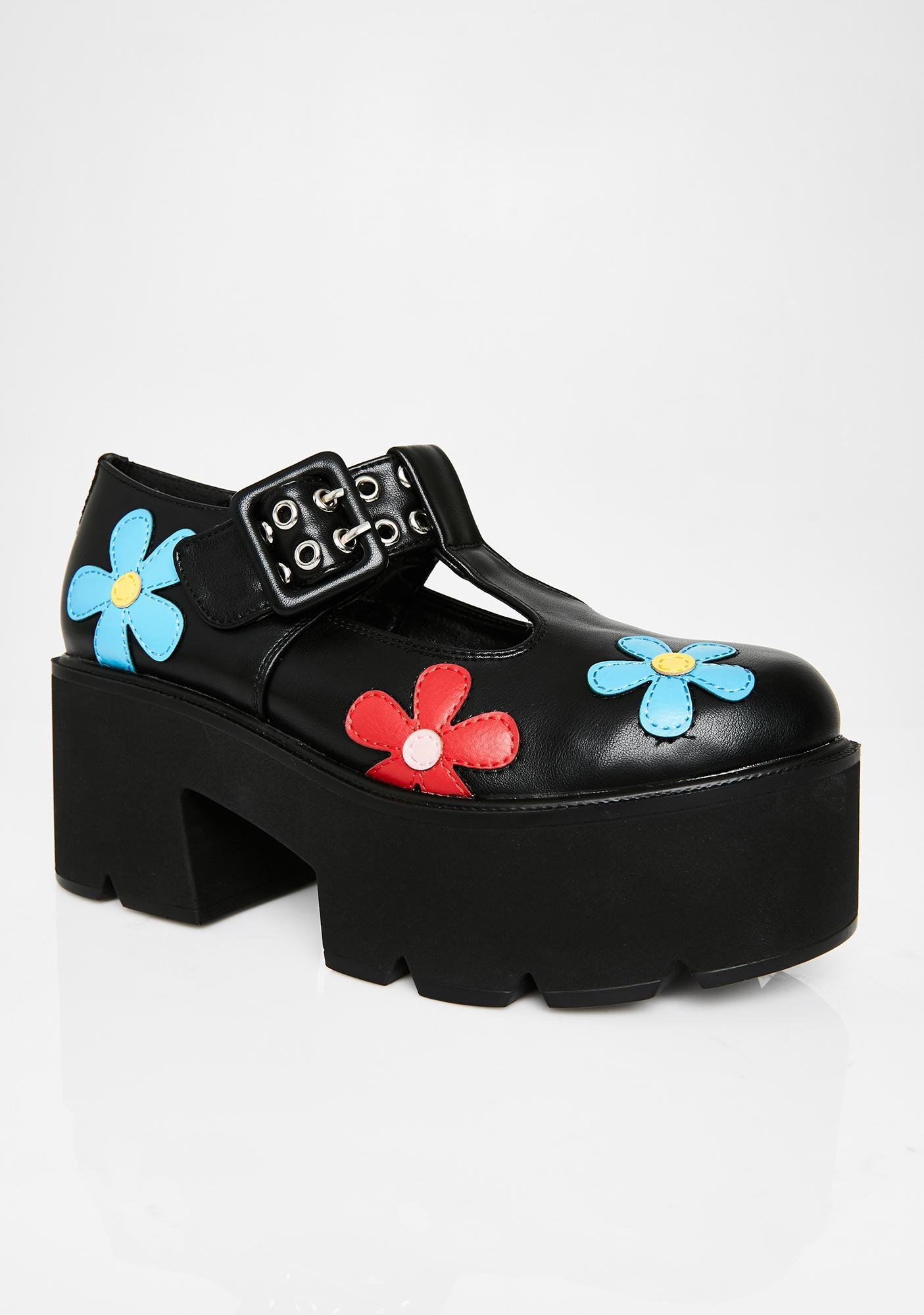 Lamoda Watch Me Platform Oxfords