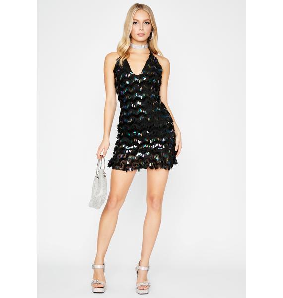Midnight Siren Ecstasy Sequin Dress