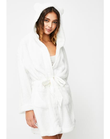Pure Cozy Cutie Teddy Robe