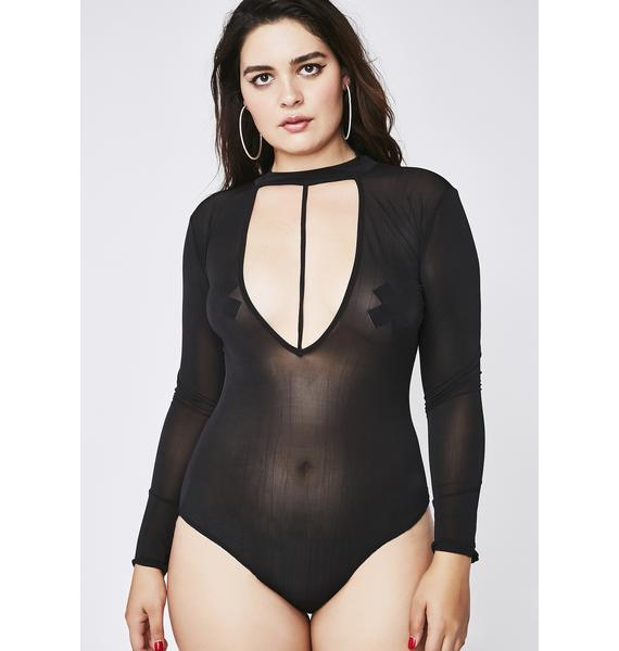 Go Off Sheer Bodysuit