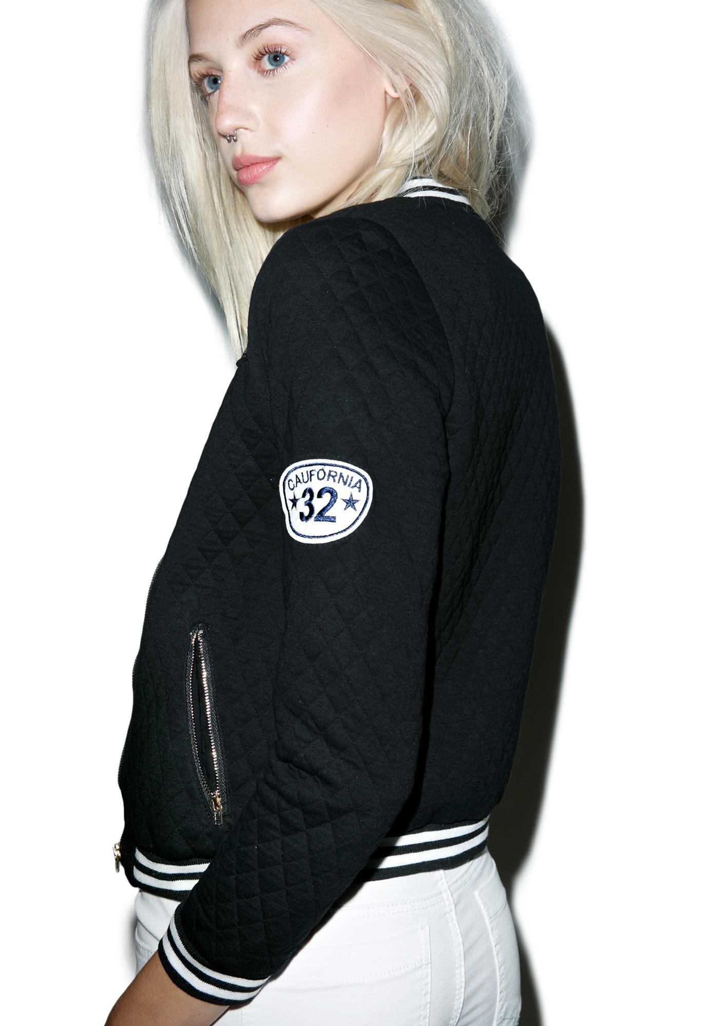 268bf73c6 Bad Girl Varsity Jacket