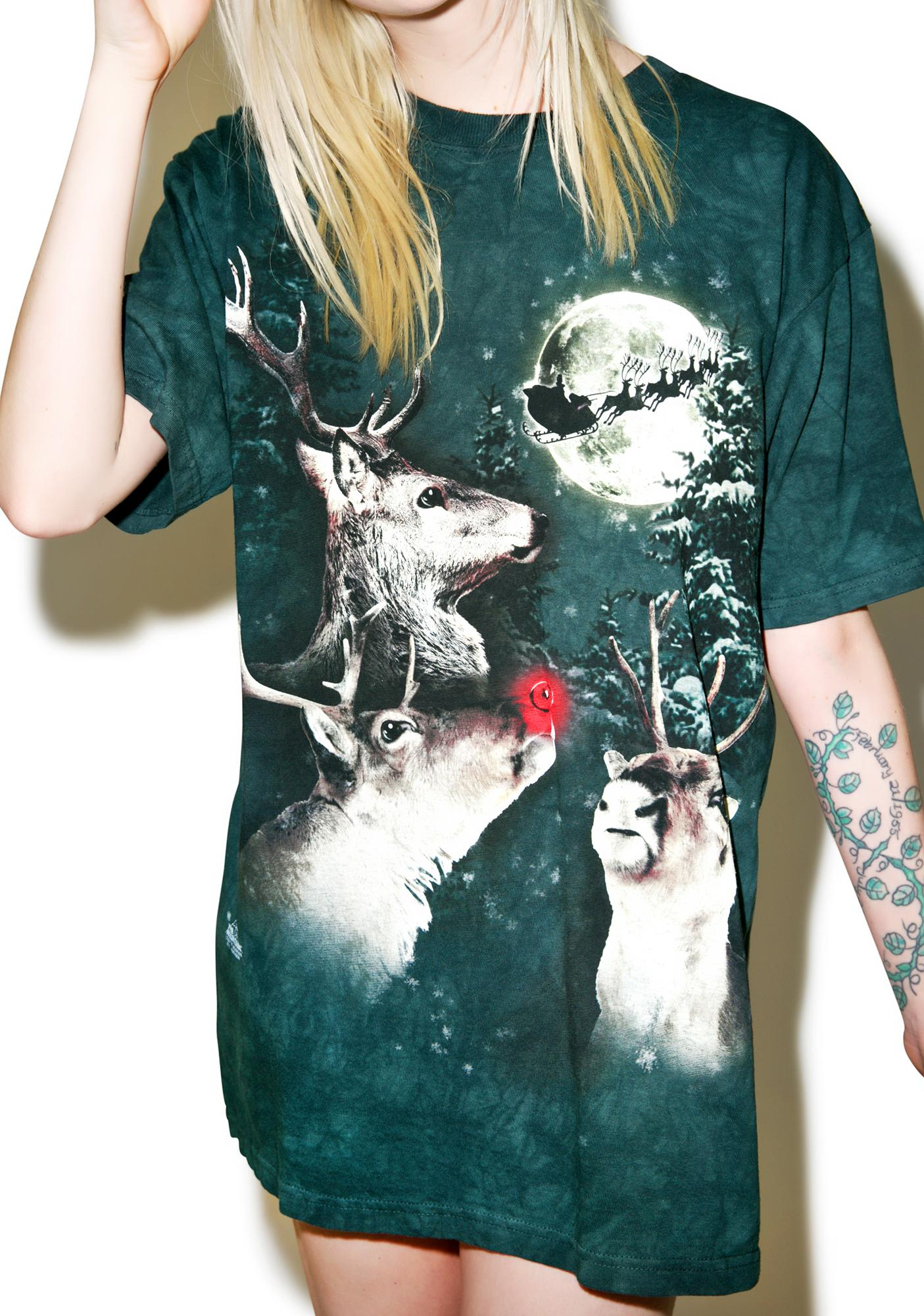 Reindeer Thot Tee