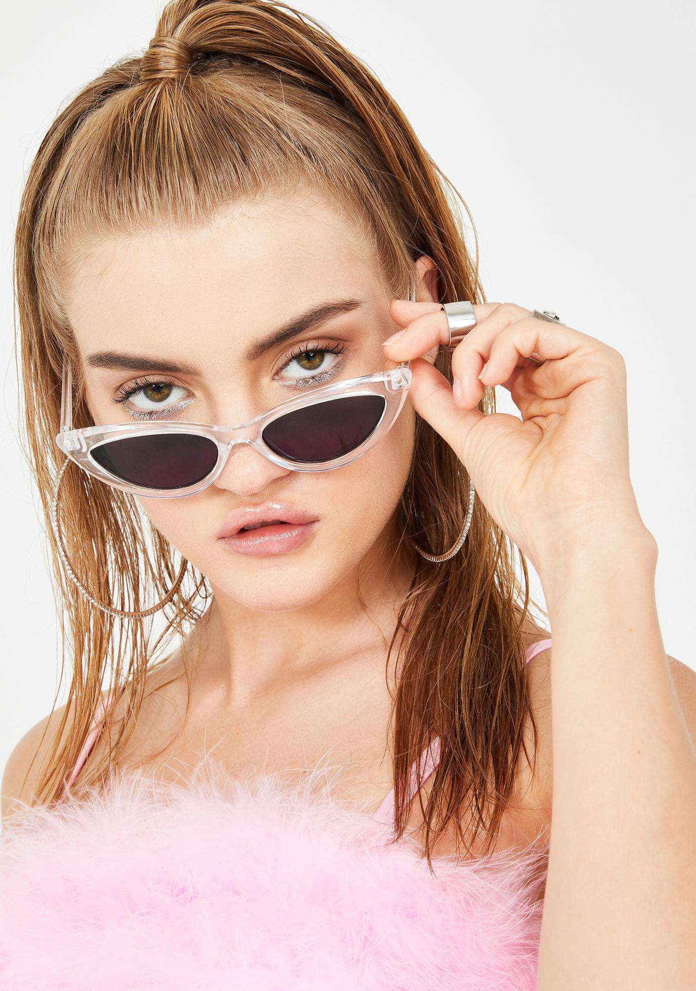 Icy 7th Year Itch Cat Eye Sunglasses