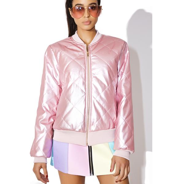Pillow Talk Bomber Jacket