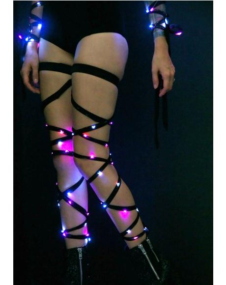 Party Vixen Light-Up Leg Wraps