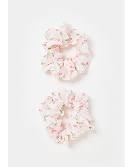 Sweet Jubilee Hair Scrunchies