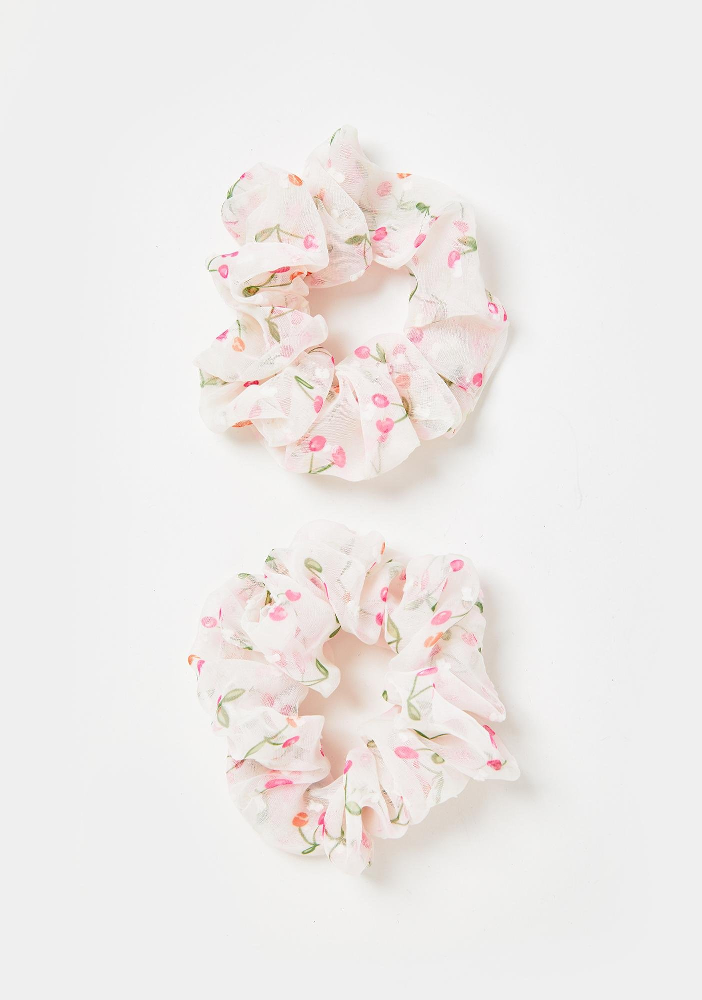 Sweet Jubilee Hair Scrunchies