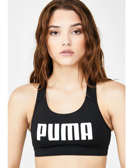 Puma Black 4Keeps Bra