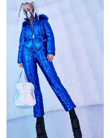 Ambient Avalanche Metallic Snowsuit